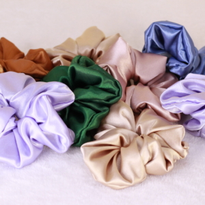 Satin Scrunchies/ Hijab Volumisers Large